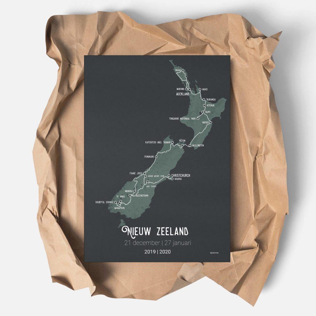 Ontwerp je eigen reisposter